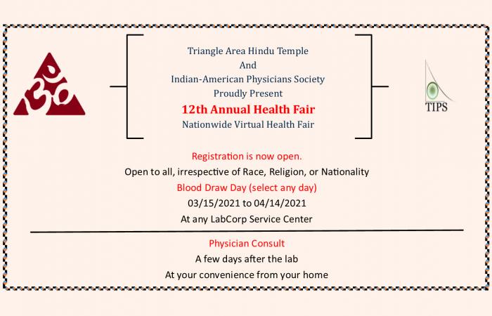 Virtual Health Fair 2021